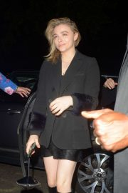 Chloe Moretz - Arrives at Annables Private Members Club in London