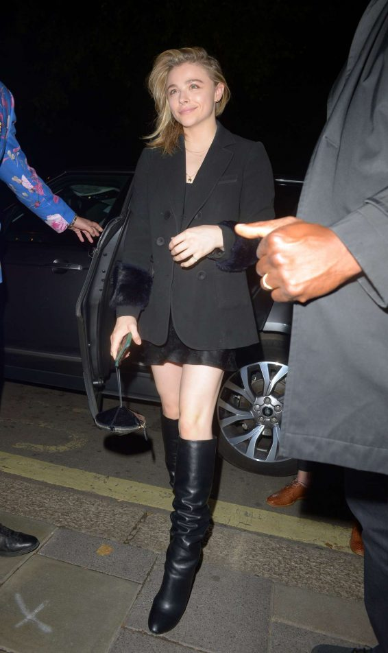 Chloe Moretz 2019 : Chloe Moretz – Arrives at Annables Private Members Club-15