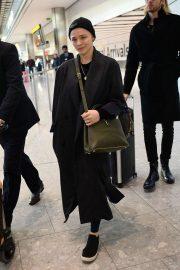 Chloe Moretz - Arrives at Heathrow Airport in London