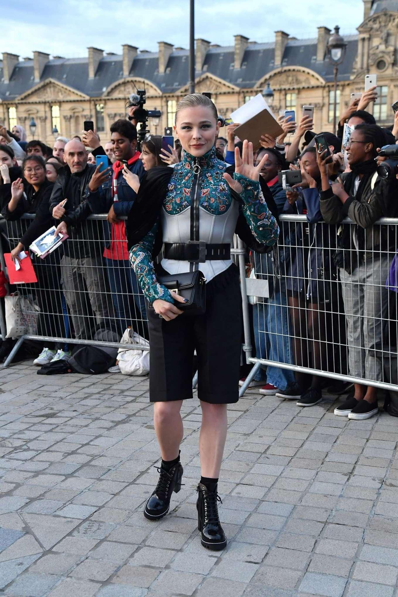 Chloe Moretz 2019 : Chloe Moretz – Arrives at Louis Vuitton SS 20020 Paris Fashion Show-08