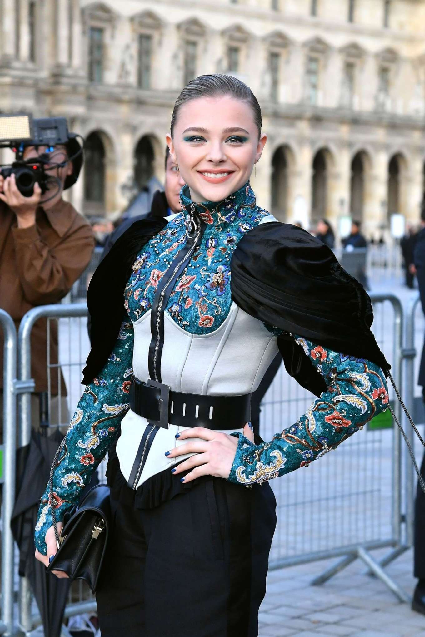 Chloe Moretz - Arrives at Louis Vuitton SS 20020 Paris Fashion Show