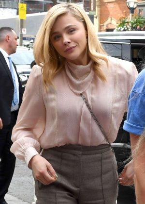 Chloe Moretz - Arriving at Toronto Film Festival in Toronto