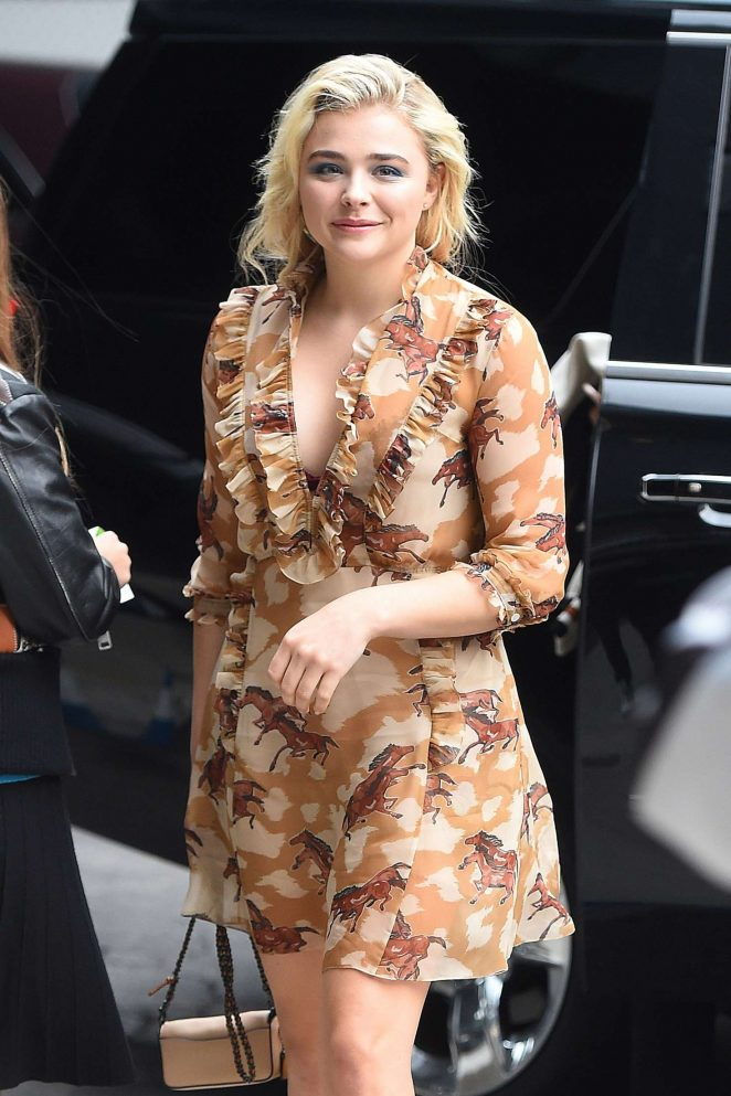 Chloe Moretz at a Coach event in NYC