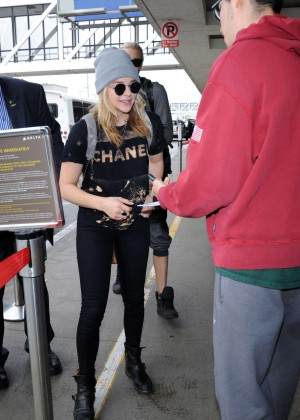 Chloe Moretz at LAX Airport -25