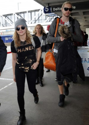 Chloe Moretz at LAX Airport -28