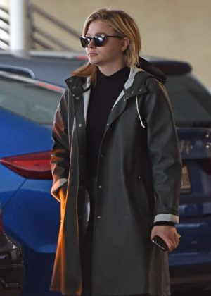 Chloe Moretz at the cinema with her brother Colin
