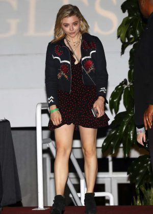 Chloe Moretz at The Eagles Concert in Inglewood