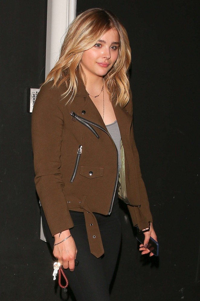 Chloe Moretz at The Nice Guy in West Hollywood