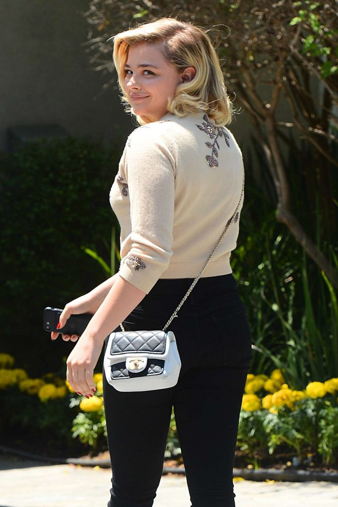 Chloe Moretz - Attends InStyle's 'Day of Indulgence' Party in Brentwood