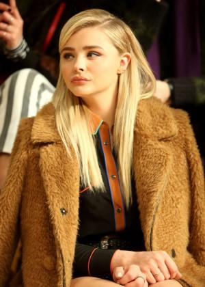 Chloe Moretz - Coach Fall 2016 Fashion Show in NYC