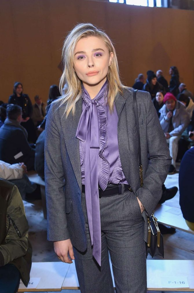 Chloe Moretz – Coach Fashion Show in NYC