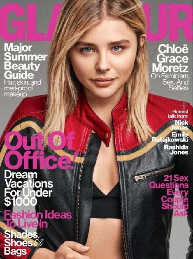 Chloe Moretz – Glamour US Cover (June 2016)
