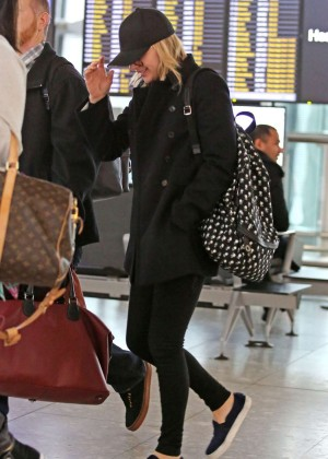 Chloe Moretz - Heathrow Airport in London