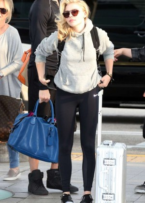 Chloe Moretz - Incheon International Airport in South Korea