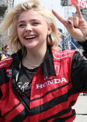 Chloe Moretz - IndyCar 2017 Toyota Grand Prix in Long Beach