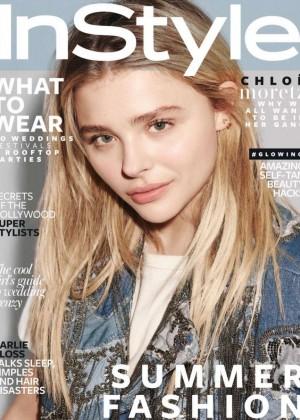 Chloe Moretz - Instyle UK Cover (June 2016)
