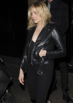 Chloe Moretz - Leaves the Chiltern Firehouse in London