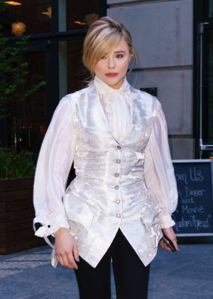 Chloe Moretz - Leaves The Miseducation of Cameron Post Premiere in NY
