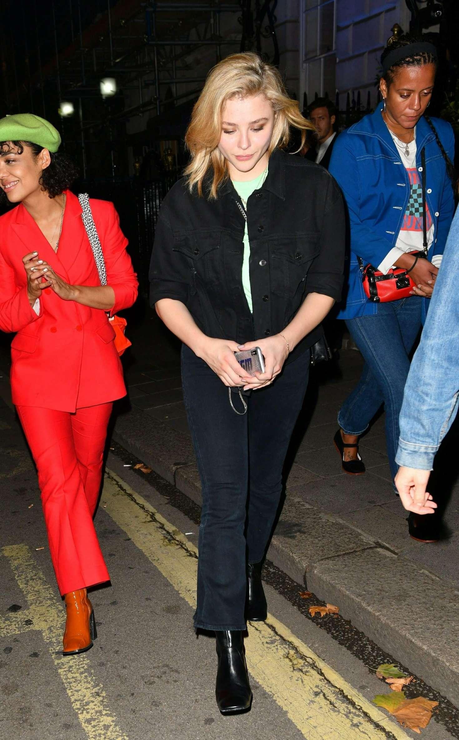 Chloe Moretz 2018 : Chloe Moretz: Leaving Annabels in London -02