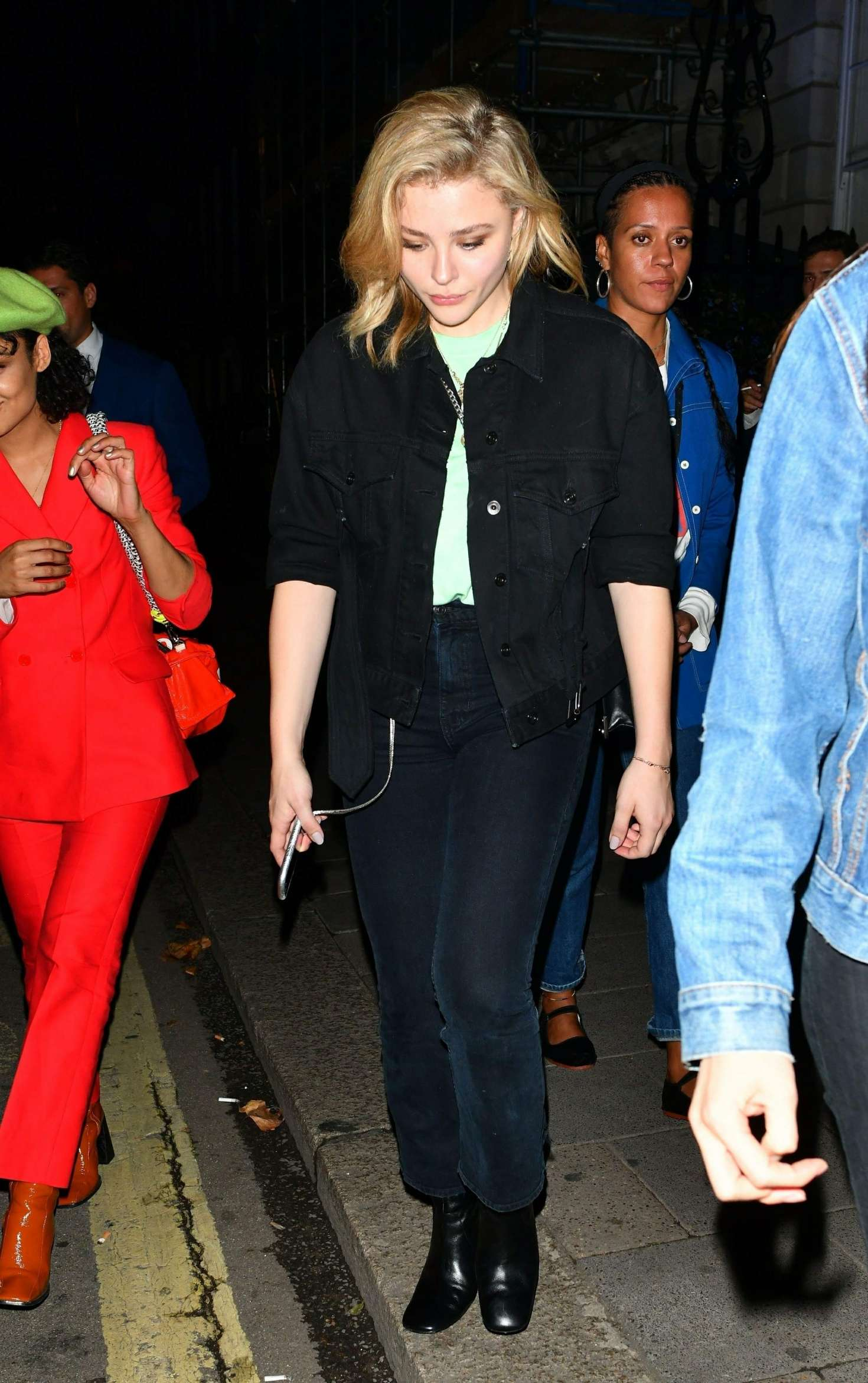 Chloe Moretz - Leaving Annabel's in London