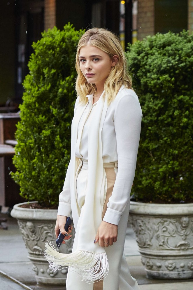 Chloe Moretz - Leaving her Hotel in New York City