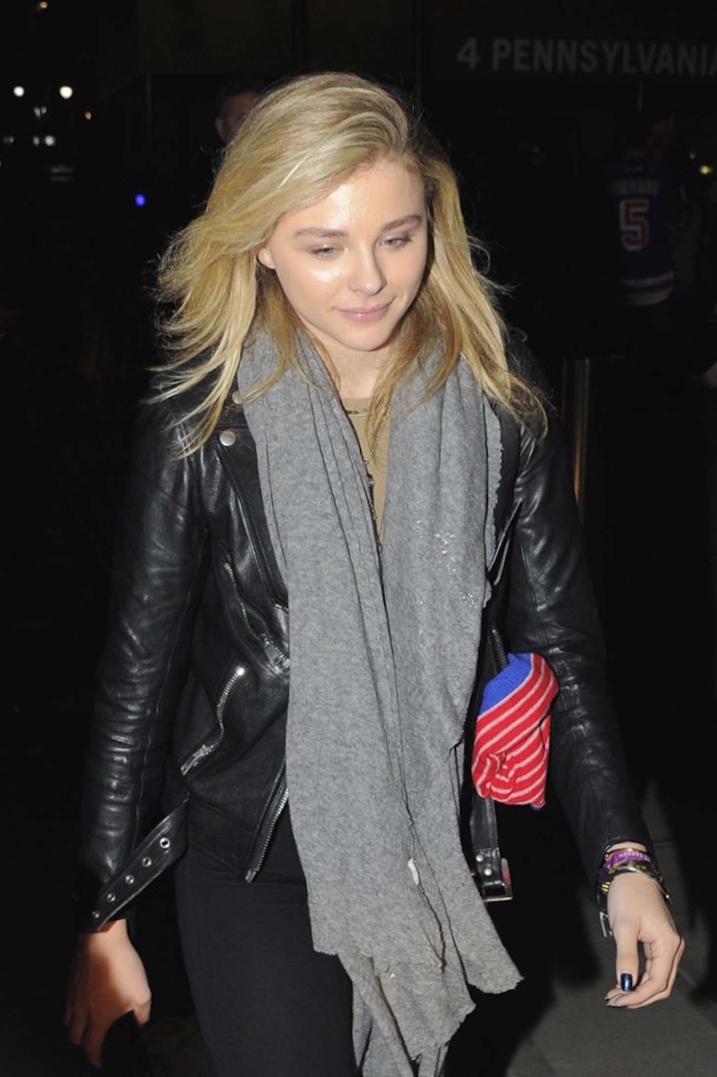 Chloe Moretz 2015 : Chloe Moretz an Tights at Madison Square Garden -09