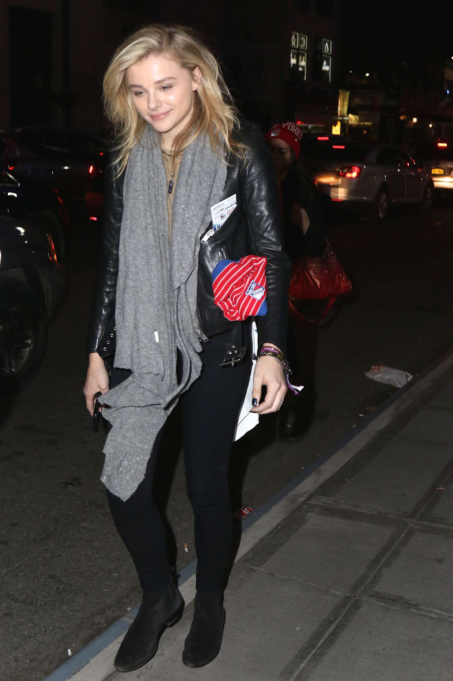 Chloe Moretz 2015 : Chloe Moretz an Tights at Madison Square Garden -13