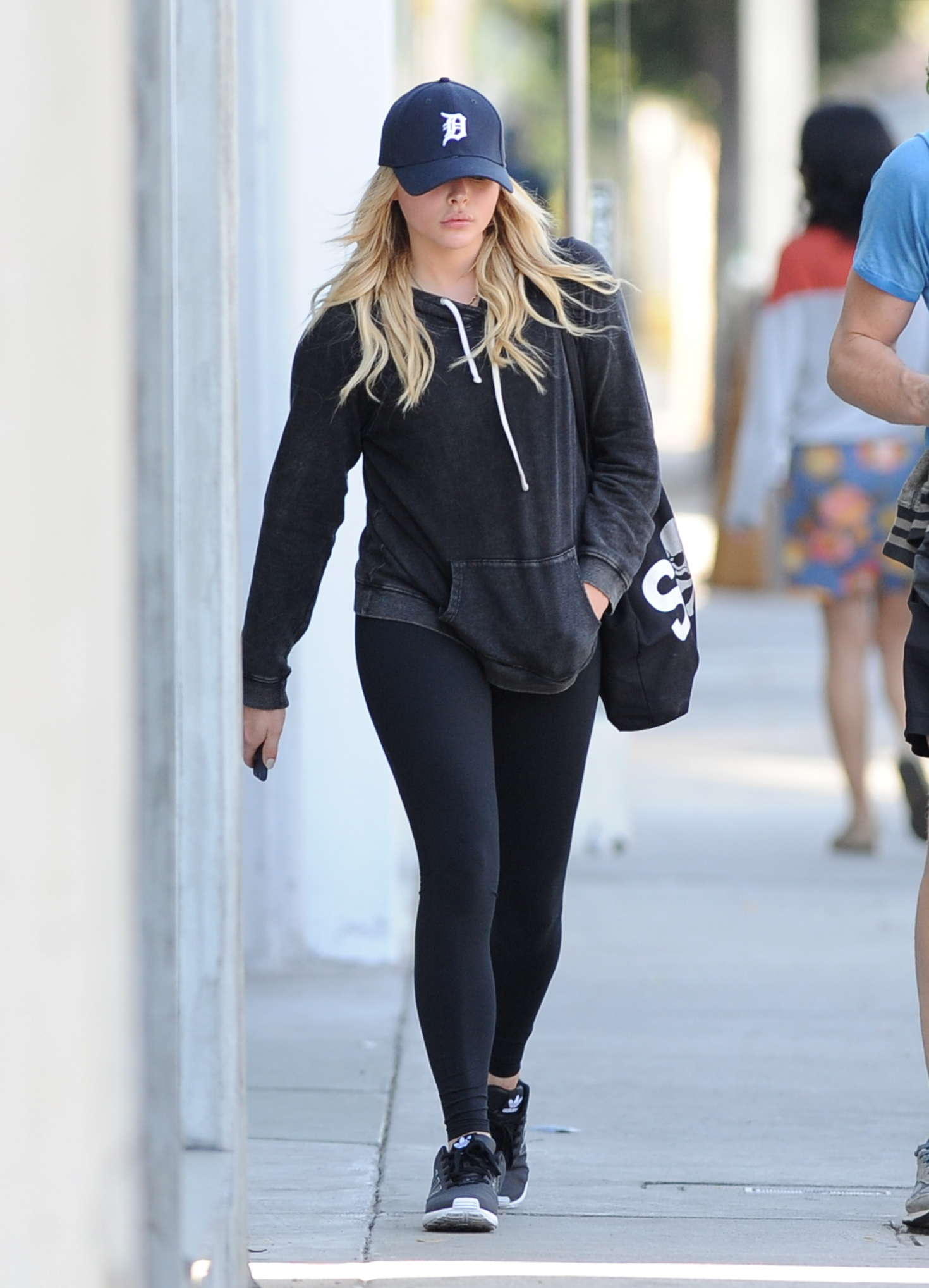 Chloe Moretz - Leaving Pilates class at Y7 Studio in West Hollywood