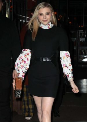 Chloe Moretz – Leaving the Bowery Hotel in New York