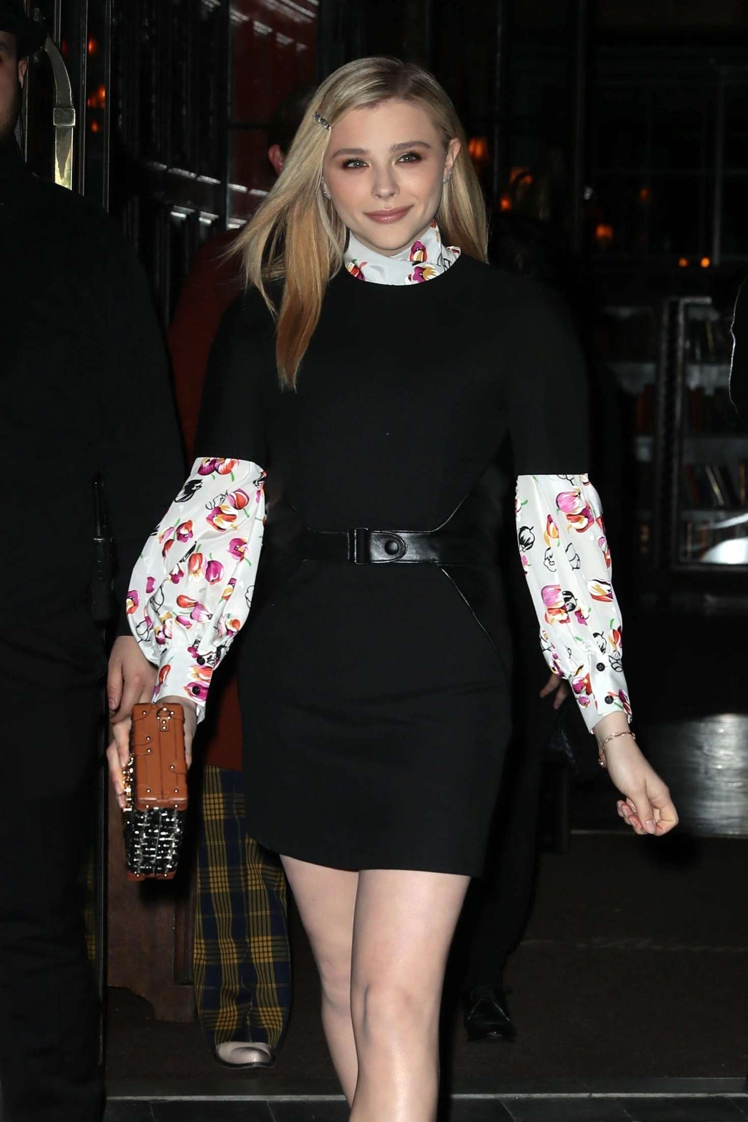 Chloe Moretz - Leaving the Bowery Hotel in New York