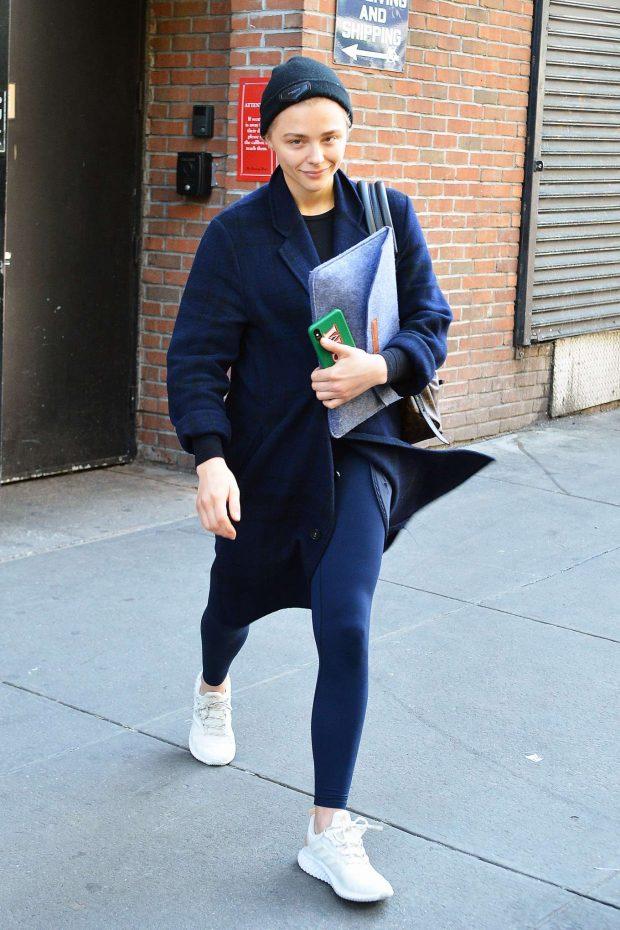 Chloe Moretz: Leaving the gym in NYC -02