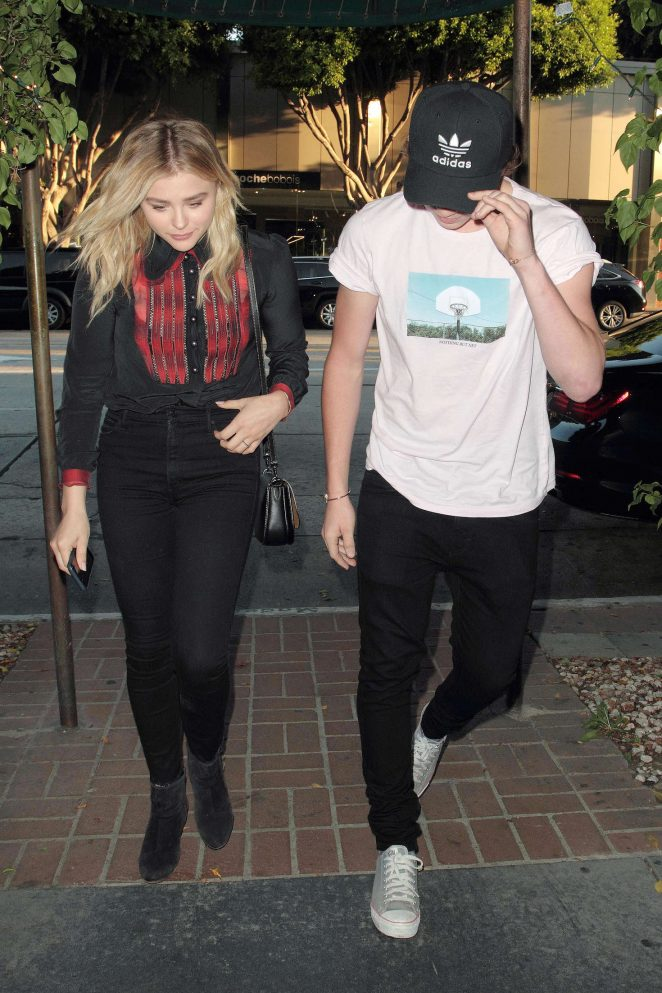 Chloe Moretz: Madeo Restaurant in West Hollywood -02