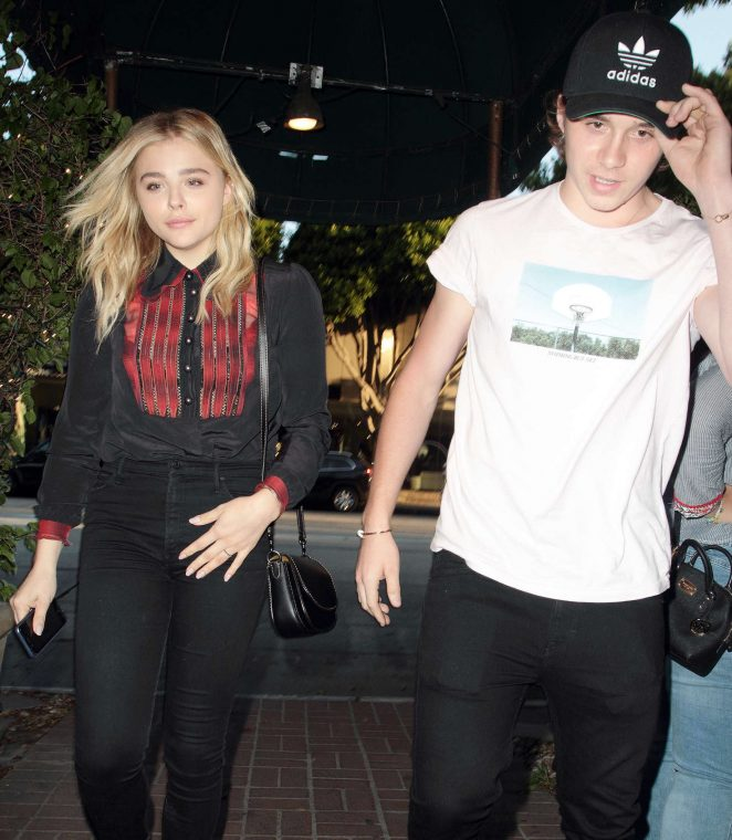 Chloe Moretz: Madeo Restaurant in West Hollywood -03