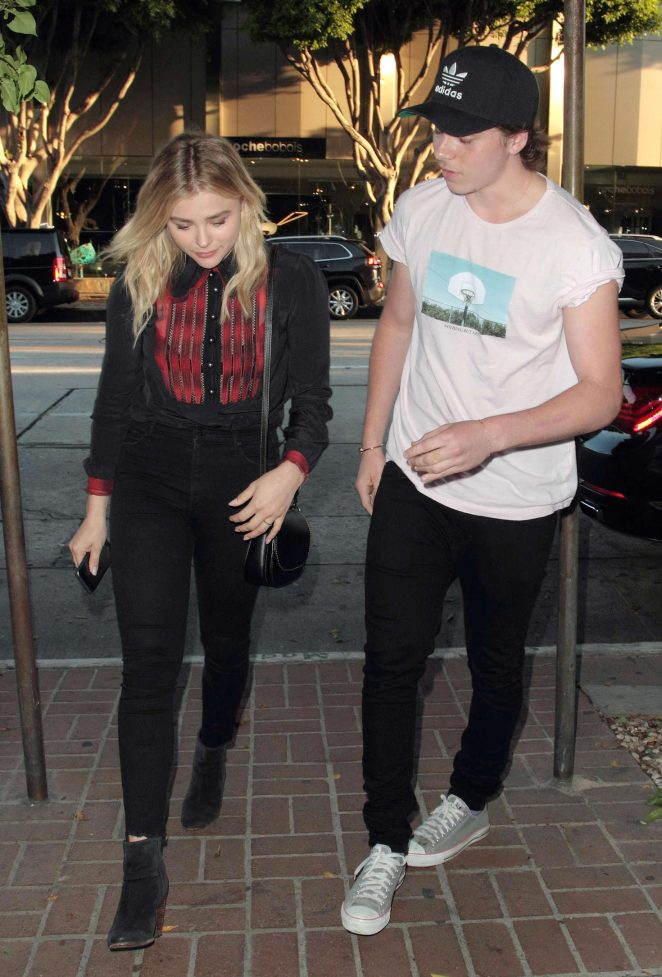 Chloe Moretz: Madeo Restaurant in West Hollywood -04