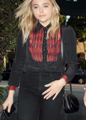 Chloe Moretz - Madeo Restaurant in West Hollywood