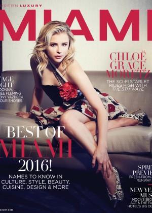 Chloe Moretz - Modern Luxury Cover (Jan / Feb 2016)