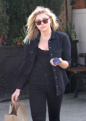 Chloe Moretz on a lunch in Beverly Hills