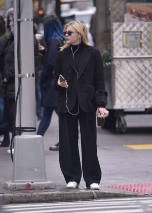 Chloe Moretz - Out and about in Manhattan