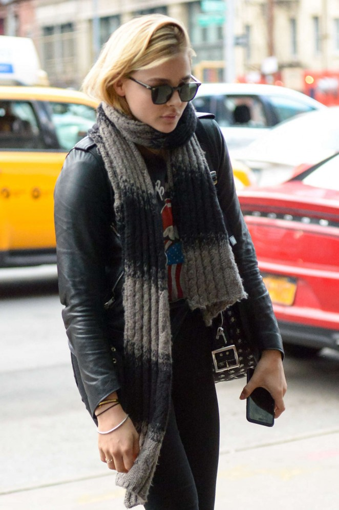 Chloe Moretz – Out and about in Manhattan