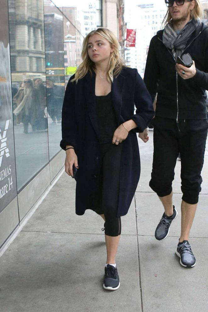 Chloe Moretz out and about in West Hollywood