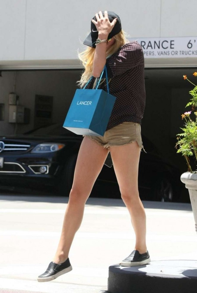 Chloe Moretz in Shorts out in Beverly Hills