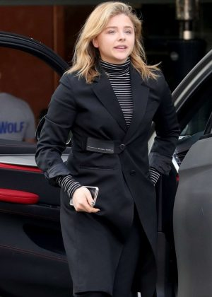 Chloe Moretz - Out in Beverly Hills