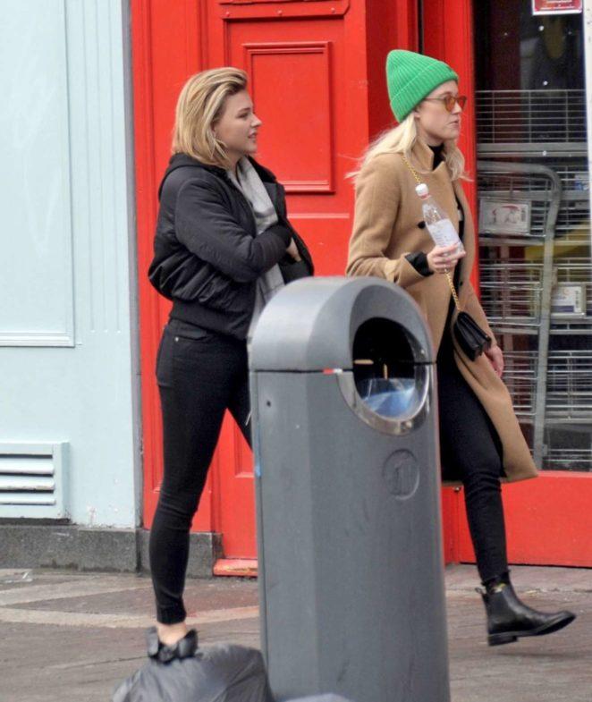 Chloe Moretz - Out In Dublin