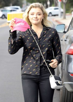 Chloe Moretz out Shopping in Beverly Hills