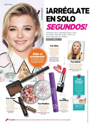 Chloe Moretz - Seventeen Mexico (October 2016)