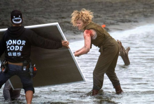 Chloe Moretz: Shadow in the Cloud movie set in New Zealand -04