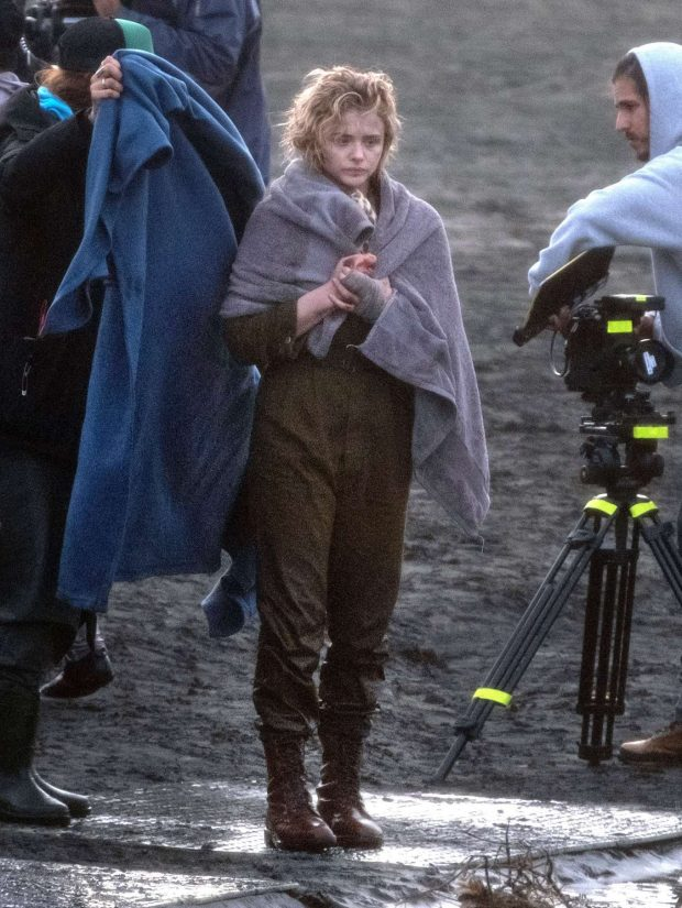 Chloe Moretz: Shadow in the Cloud movie set in New Zealand -08