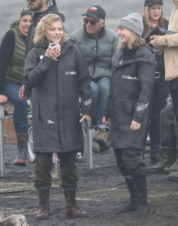 Chloe Moretz: Shadow in the Cloud movie set in New Zealand -28