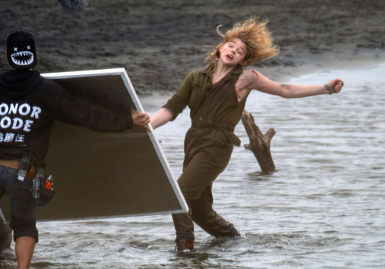 Chloe Moretz: Shadow in the Cloud movie set in New Zealand ...