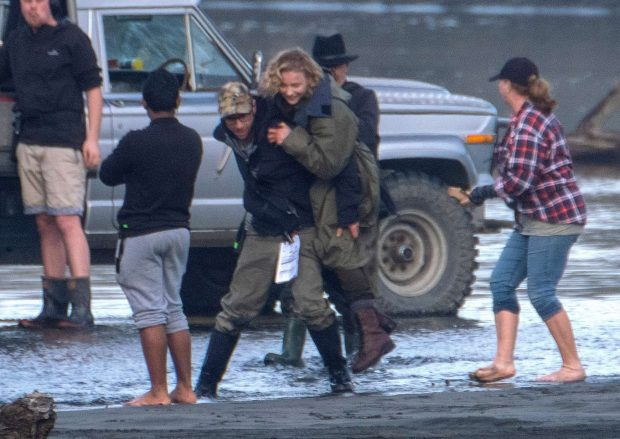 Chloe Moretz: Shadow in the Cloud movie set in New Zealand -41